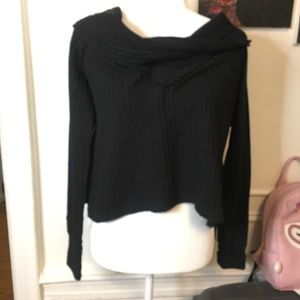 Free people thermal cowl neck NWT